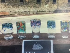 Littleport and Hot Shop Glass Founders Club Glasses